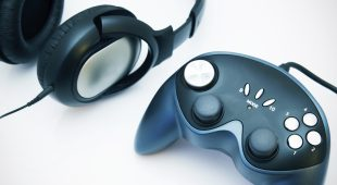 Headphones und Controller