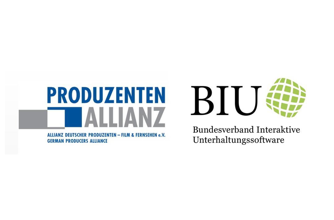 Logo Produzentenallianz & BIU