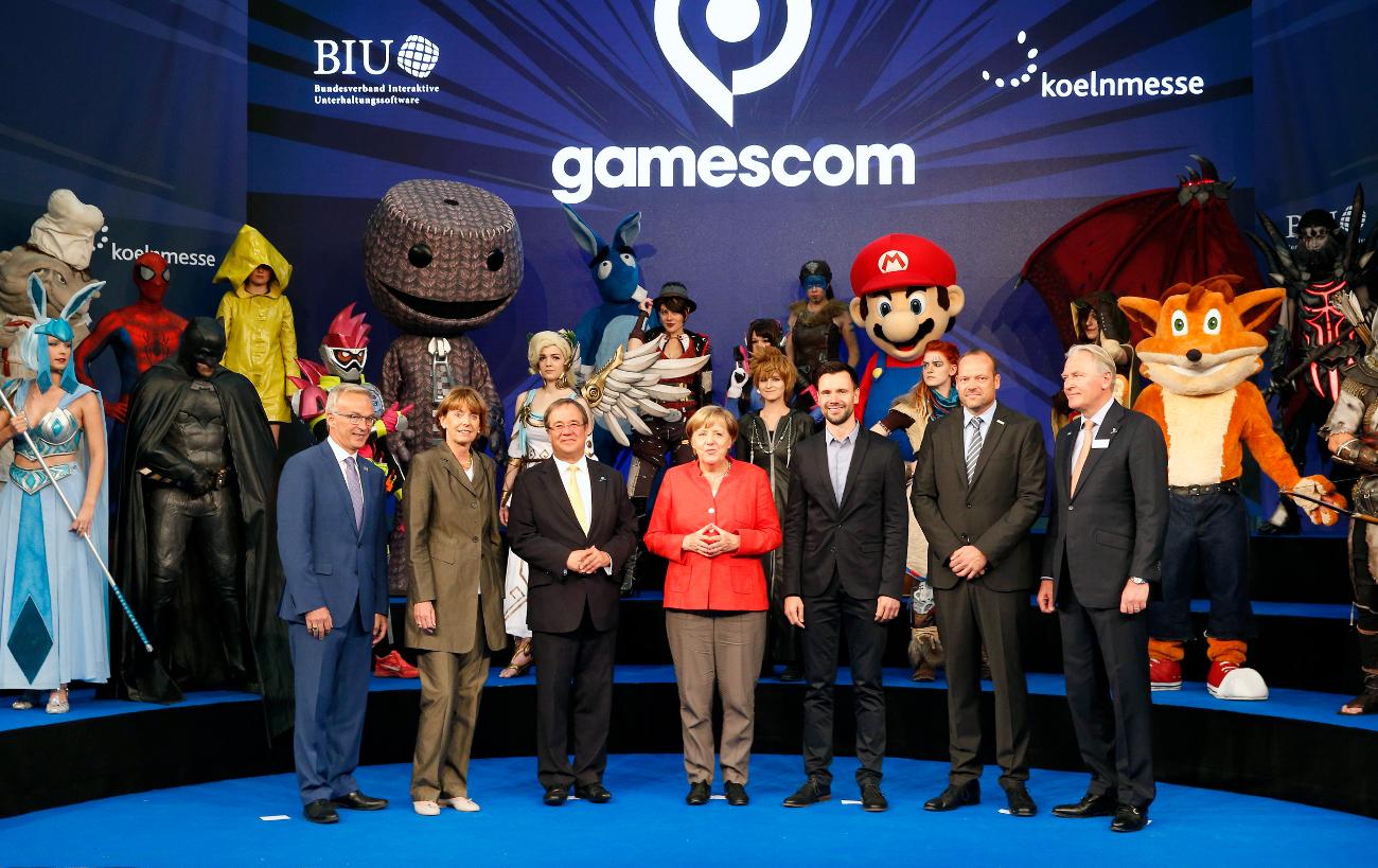 gamescom 2017 Eröffnung