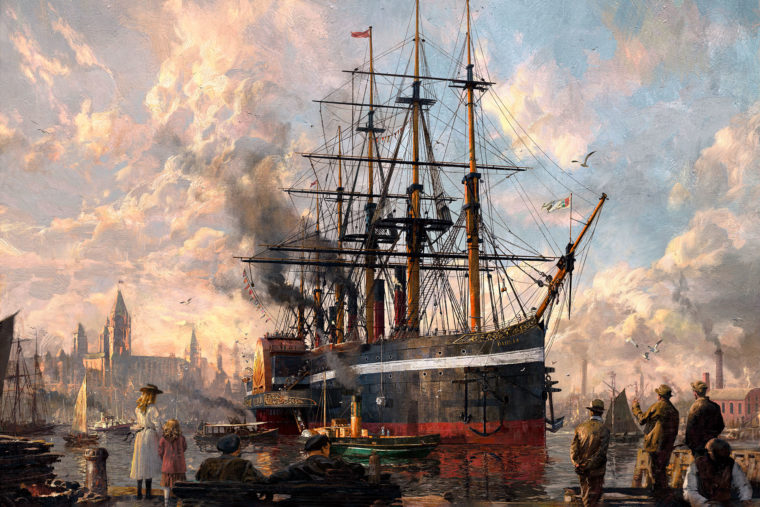 Anno 1800, the latest instalment of the renowned strategy series, was developed in close connection with the loyal Anno community.